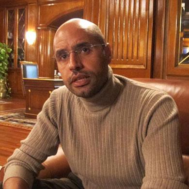 Gaddafi's son Saif al-Islam wants to run for Libya president